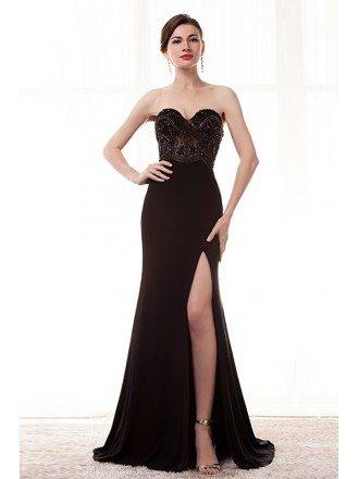 Split Leg Prom Dresses, Prom Dresses Split Leg -GemGrace