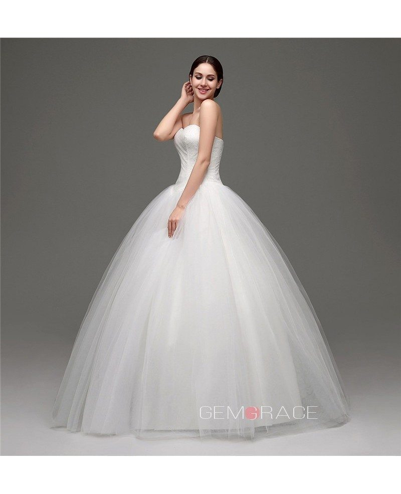 Ball gown sweetheart floor length wedding dress c28241 for What shoes to wear with a ball gown wedding dress