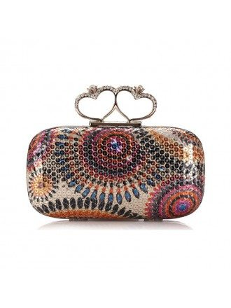 Shining Sequin Minaudiere Style