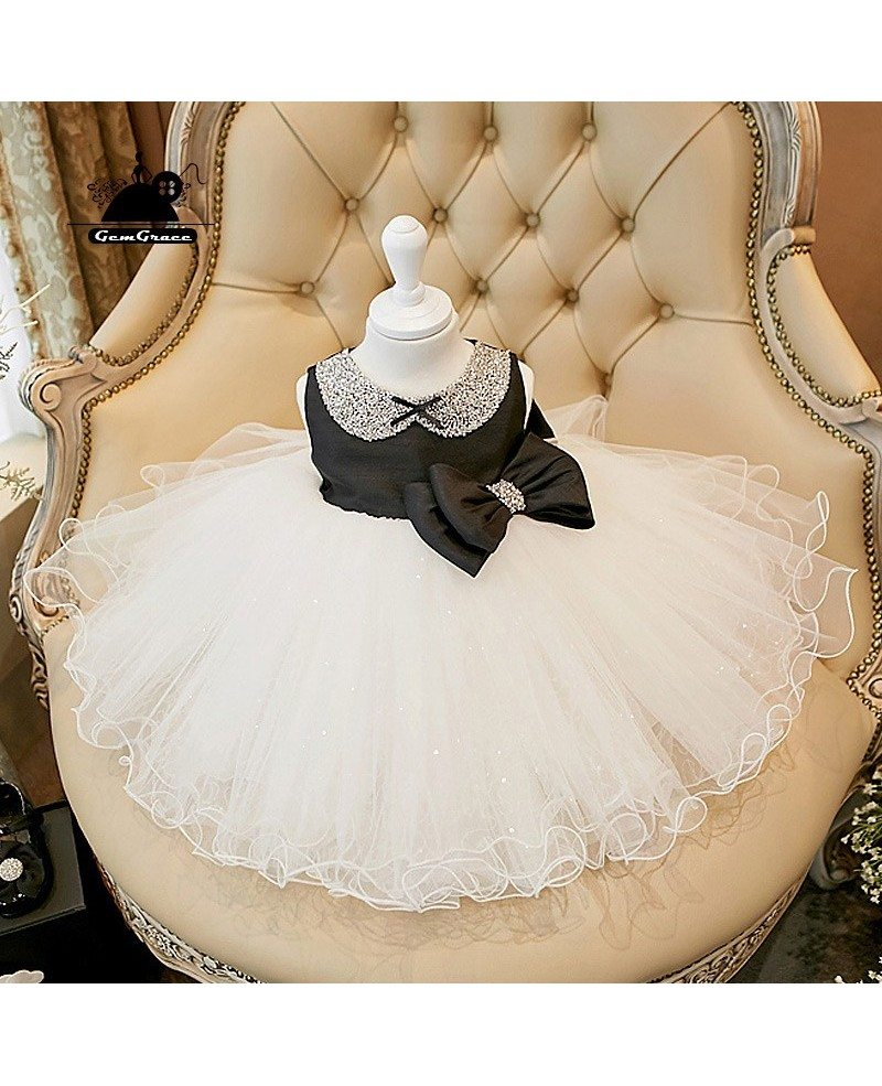 Vintage couture black and white flower girl dress tutu party dress vintage couture black and white flower girl dress tutu party dress mightylinksfo