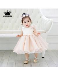 Elegant pink puffy short flower girl dress princess pageant gown elegant pink puffy short flower girl dress princess pageant gown mightylinksfo