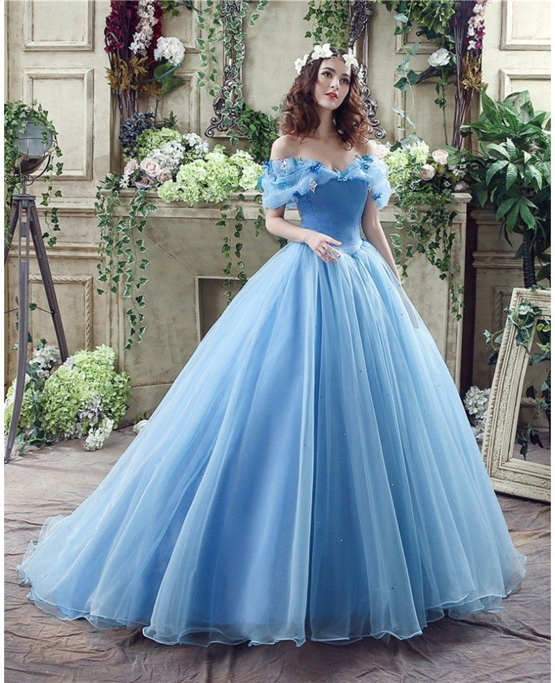 traditional wedding dress non traditional blue cinderella princess bridal gowns with 8044