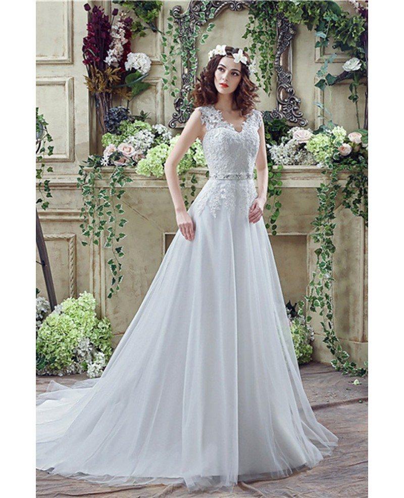 Modern Rustic Lace Wedding Dress Inspiration - All Wedding Dresses ...