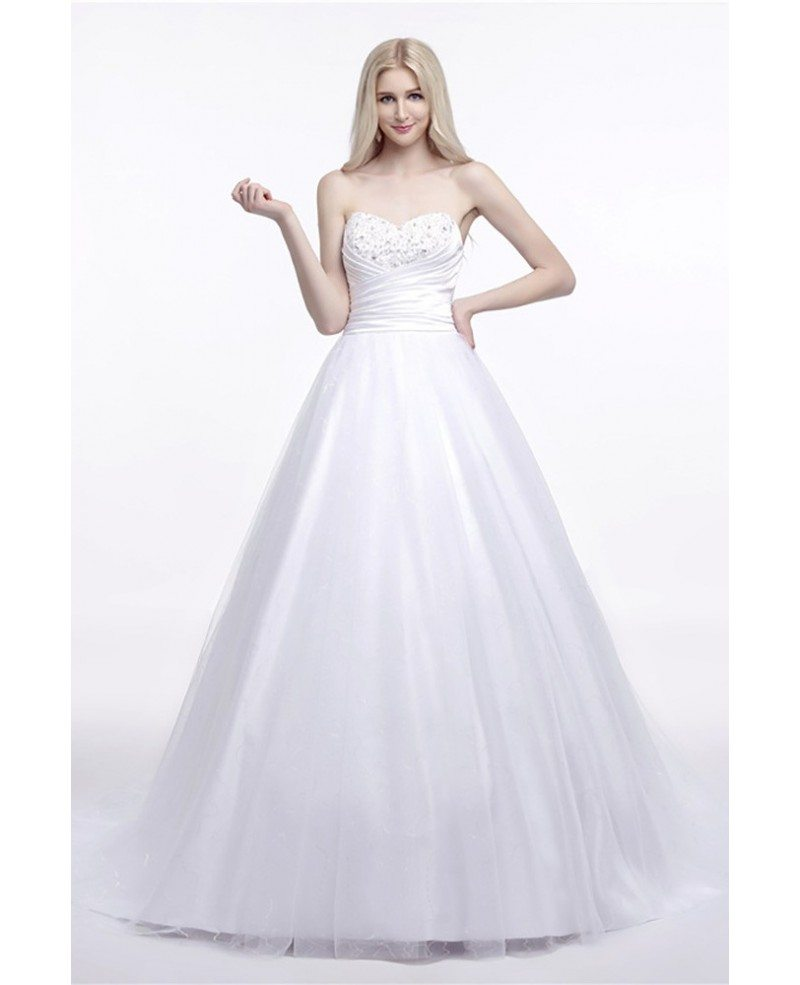 Elegant corset strapless bridal dress ball gown with for Strapless corsets for under wedding dresses