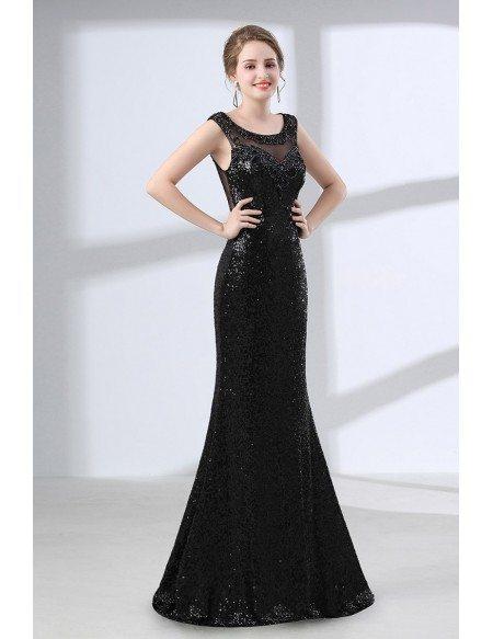 Sheer Sparkly Dress