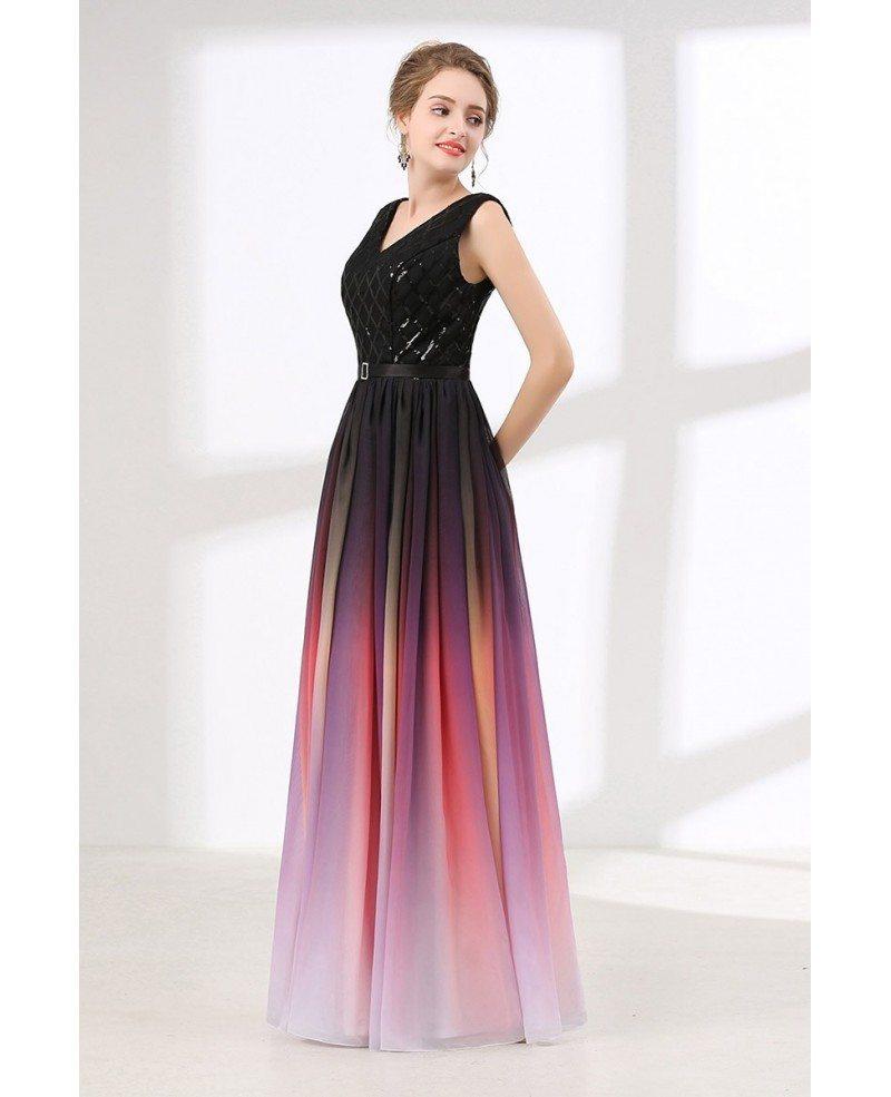Flowy Chiffon Dress