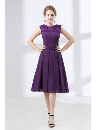 Evening Dresses Knee Length