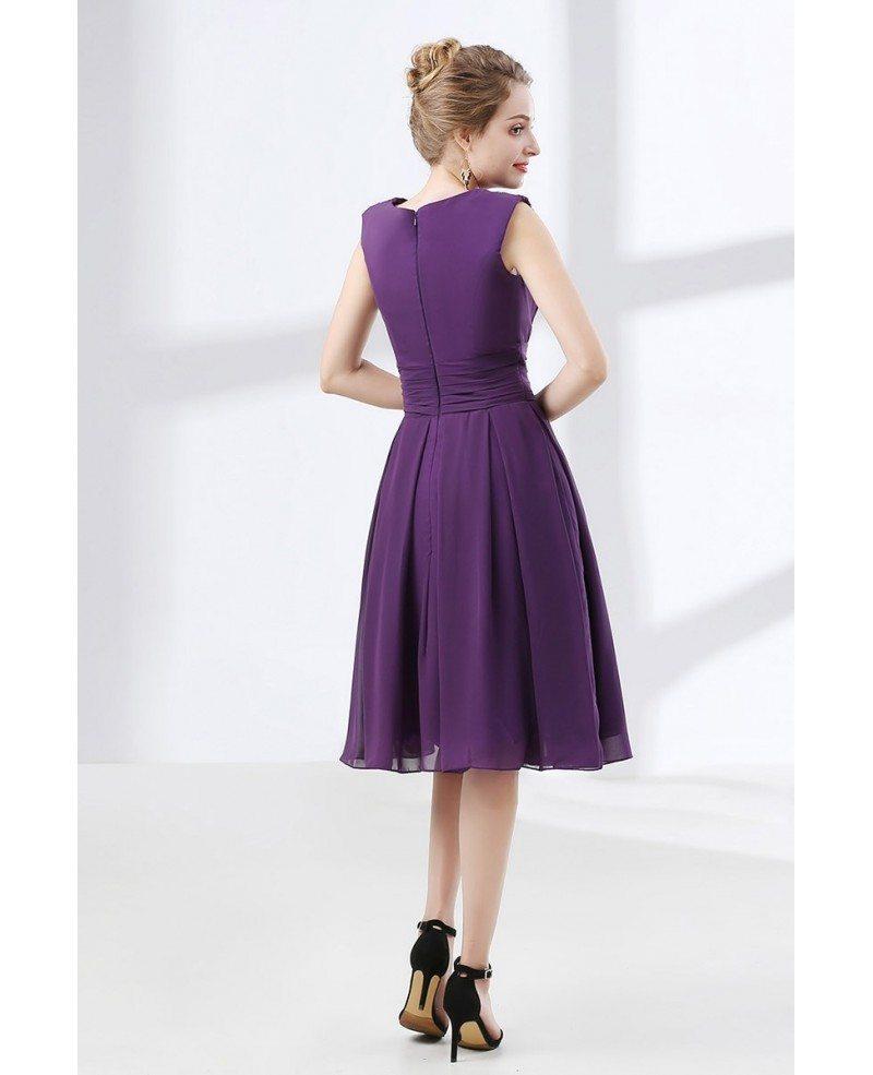 Cheap Purple Dress