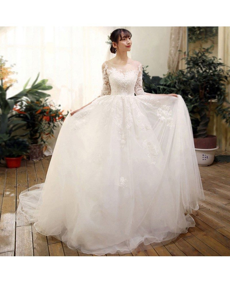 Best Boho Beach Wedding Dress with Sleeves For Destination Weddings ...