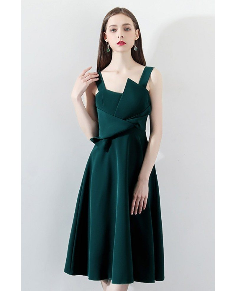 Green Long Evening Dresses Party Beaded Off Shoulder