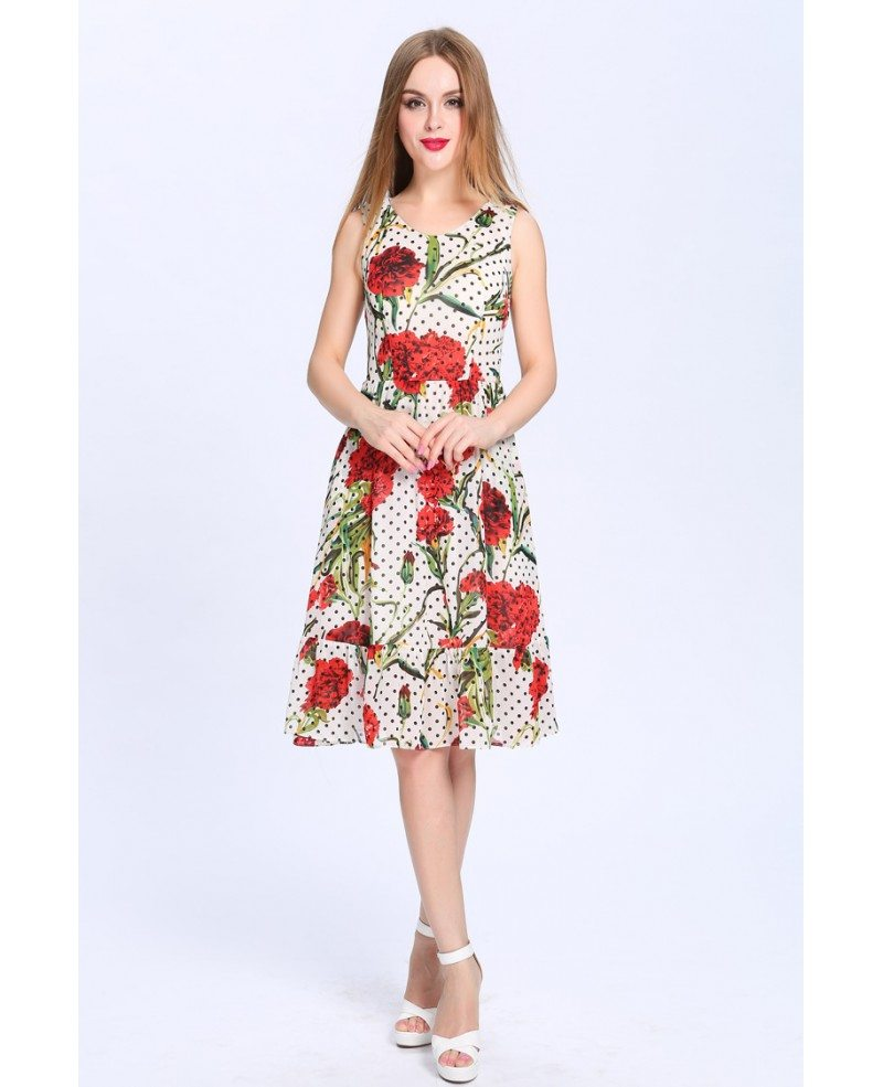 summer a line floral print chiffon short wedding guest With summer floral dresses for weddings