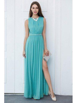 Royal Blue Wedding Guest Dresses -GemGrace (5)