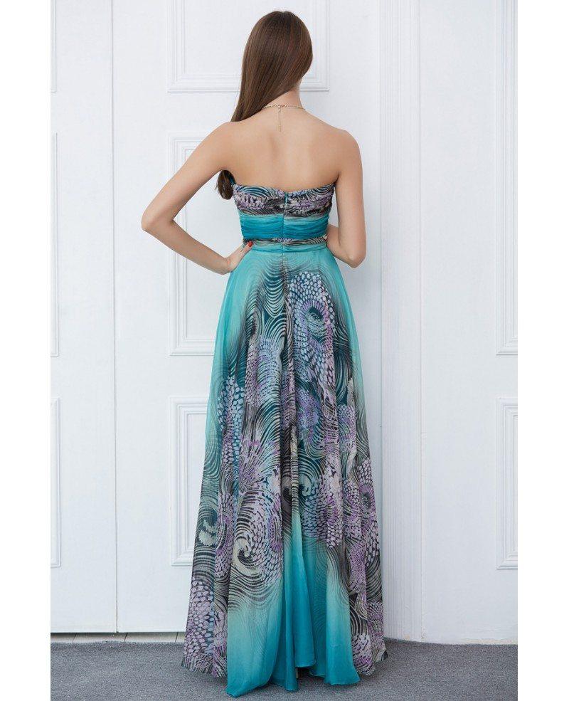 Chic Sweetheart Animal Zebra Leopard Prints Dress for Prom #CK385 ...