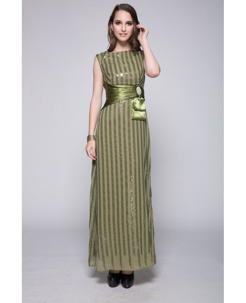 Striped lime green sequins long bridesmaid dress with sash ck395 striped lime green sequins long bridesmaid dress with sash ombrellifo Gallery
