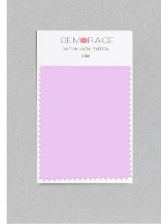 Lilac Color in Satin Fabric