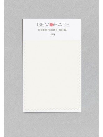 Ivory Color in Satin Fabric