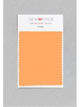 Orange Color in Satin Fabric