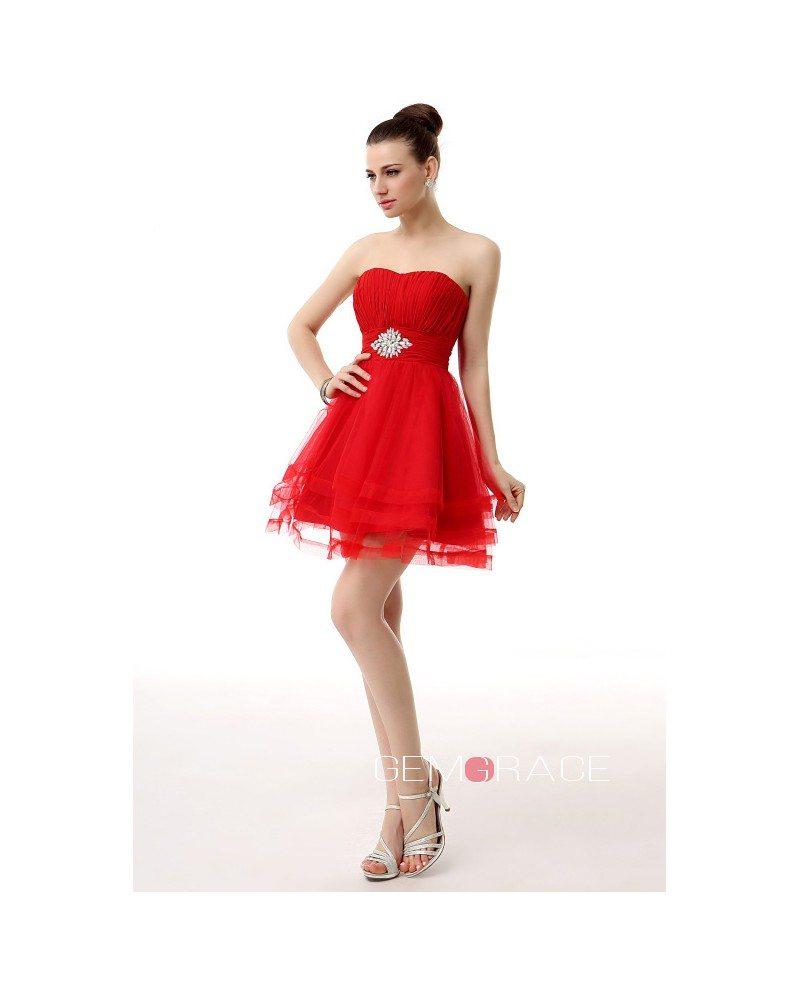 Tulle Short Prom Dresses 81