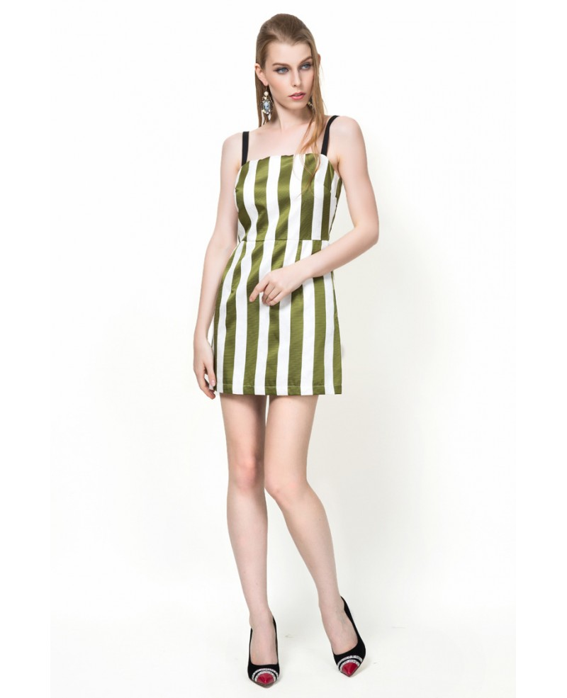 Stripe Party Dress
