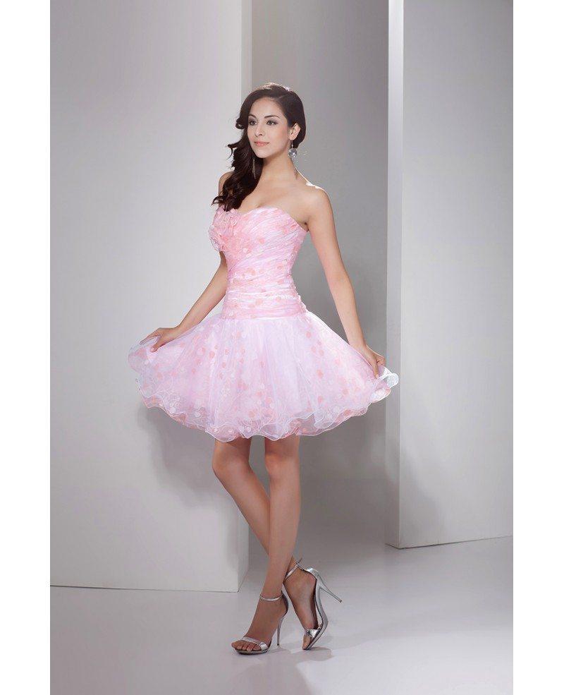 Printed Short Prom Dresses