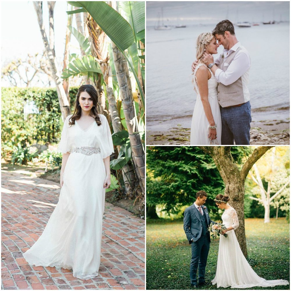 bridal dresses simple