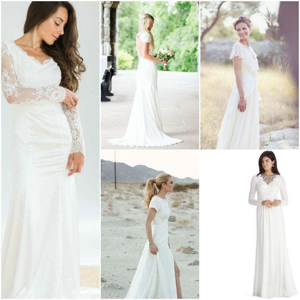 126d5330d95f Over 30 Simple but Stylish Wedding Dresses Ideas