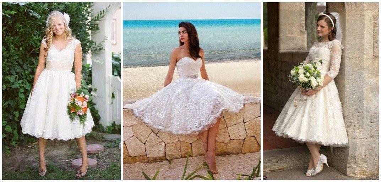 6 Reasons to Wear Short Lace Wedding Dress