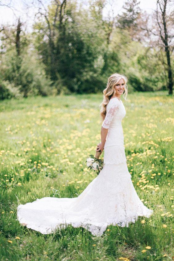 sleeve wedding dresses