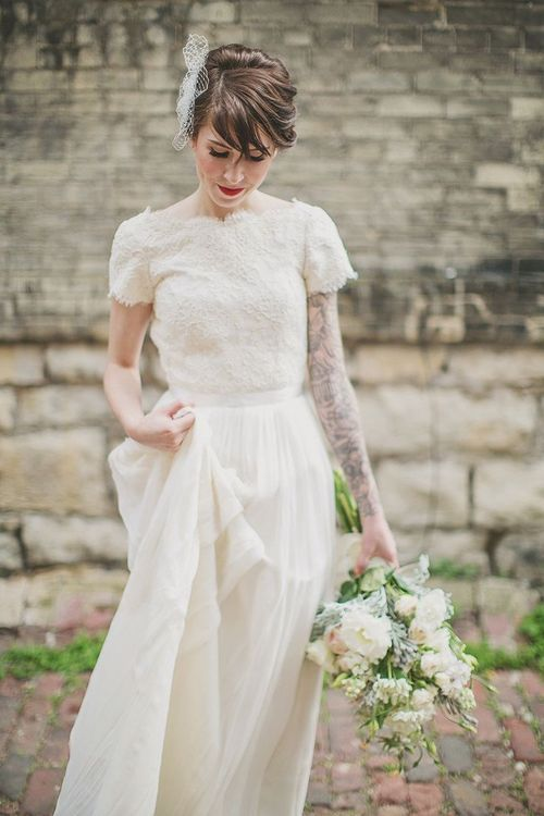 30 of the Most Gorgeous Sleeved Wedding Dress on Pinterest