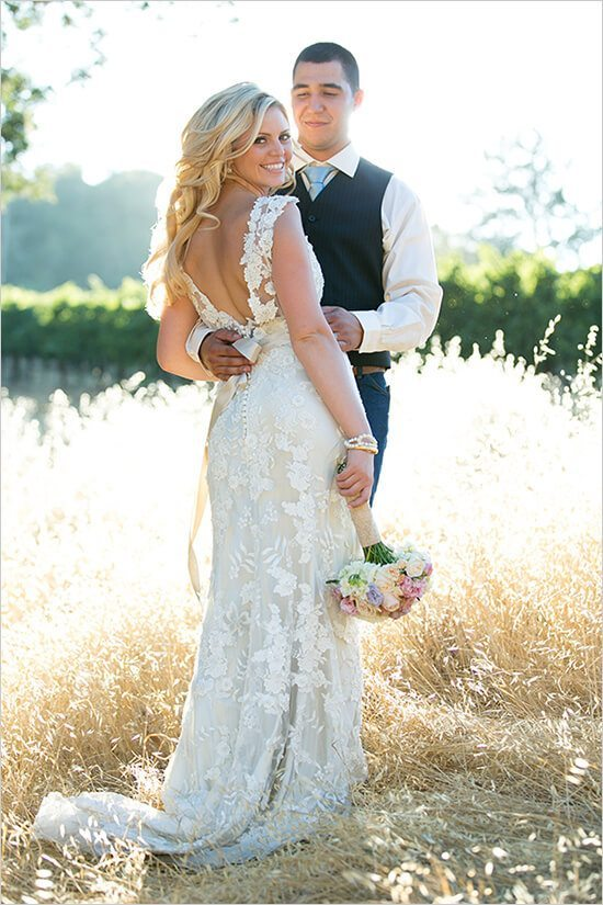 20 Best Country Chic Wedding Dresses Rustic Amp Western