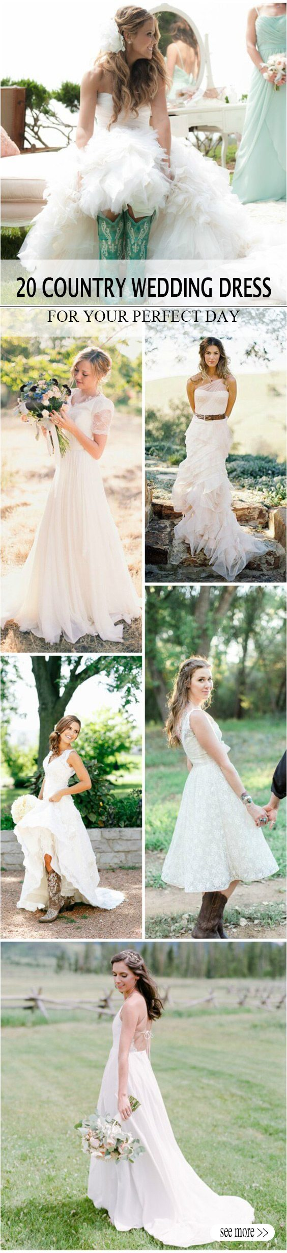 20 Best Country Chic Wedding Dresses