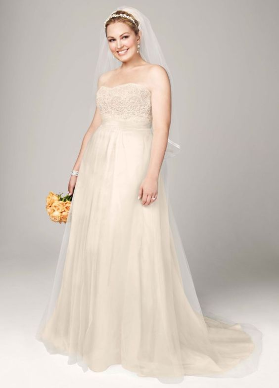 champagne tulle dress