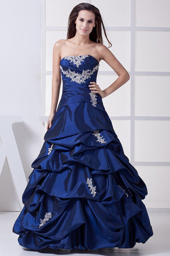 Blue Wedding Dress Meaning