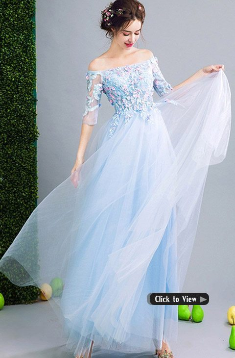 fairy blue dress