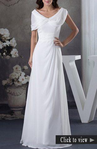 older wedding dress