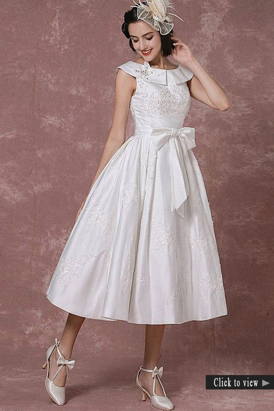 tea length wedding dresses for older brides 20 of the most vintage tea length wedding dresses for 7927