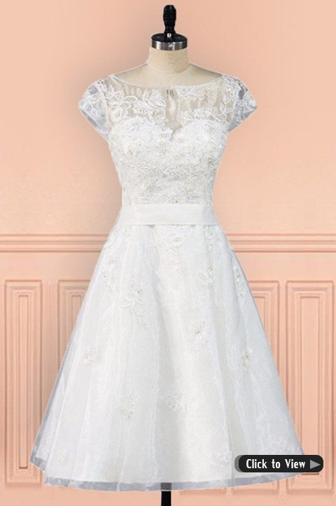 Charmant Wedding Dress With Sleeves
