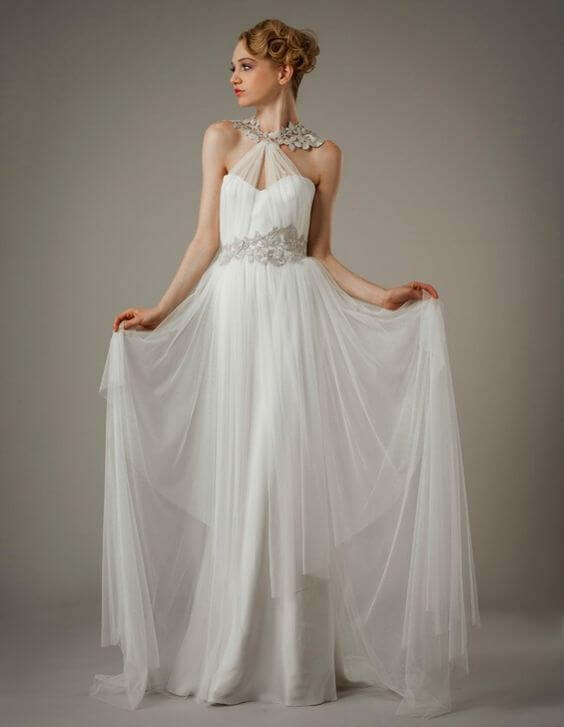 15 Most Breathtaking Goddess Wedding Dresses - GemGrace