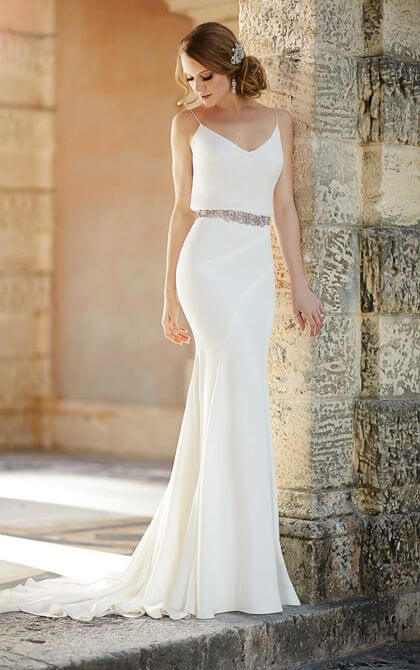 15 Most Breathtaking Goddess Wedding Dresses Gemgrace