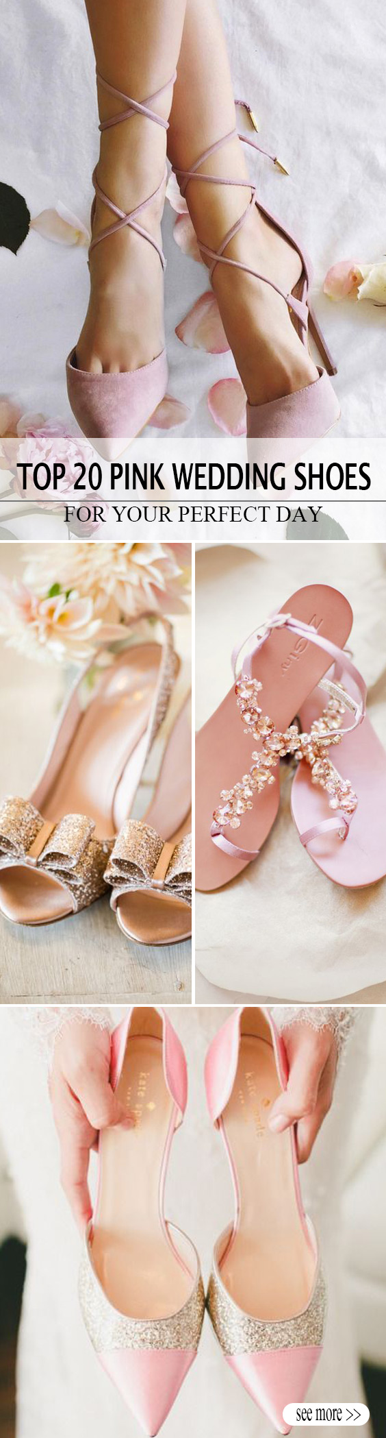 f6803d94d 20 Most Eye-catching Pink Wedding Shoes