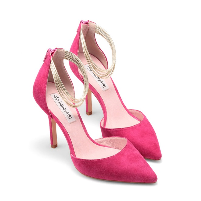 20 Most Eye-catching Pink Wedding Shoes