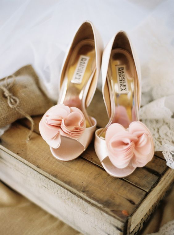 7ad792125 Sweet lace wedding flats feature pear t-strap and bowknot. I believe no  brides can resist this lovely wedding shoe.