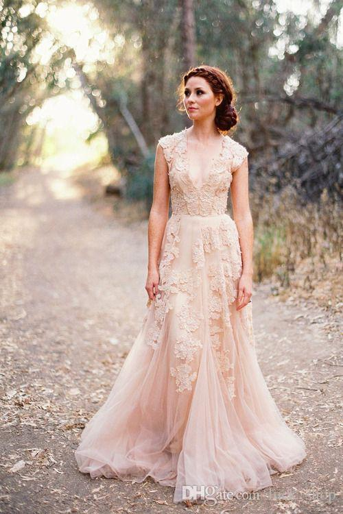 Top 40 Breathtaking Water Color Wedding Dress for Summer