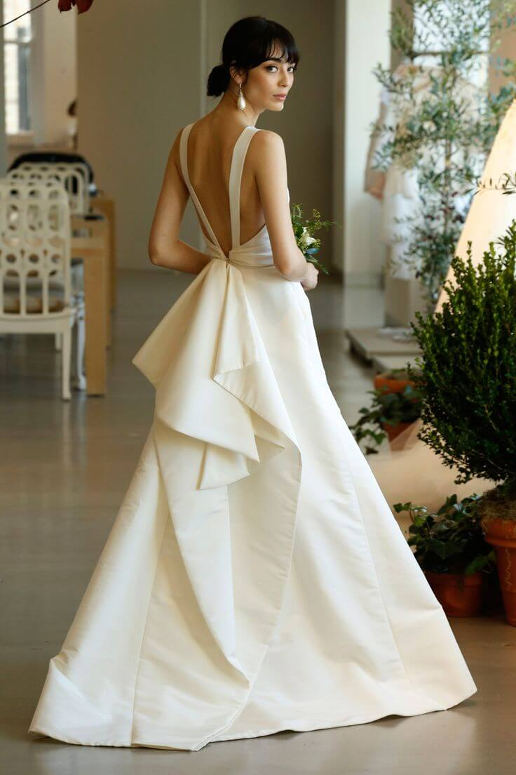 20 of the most gorgeous open back wedding dress backless for A pretty wedding dress