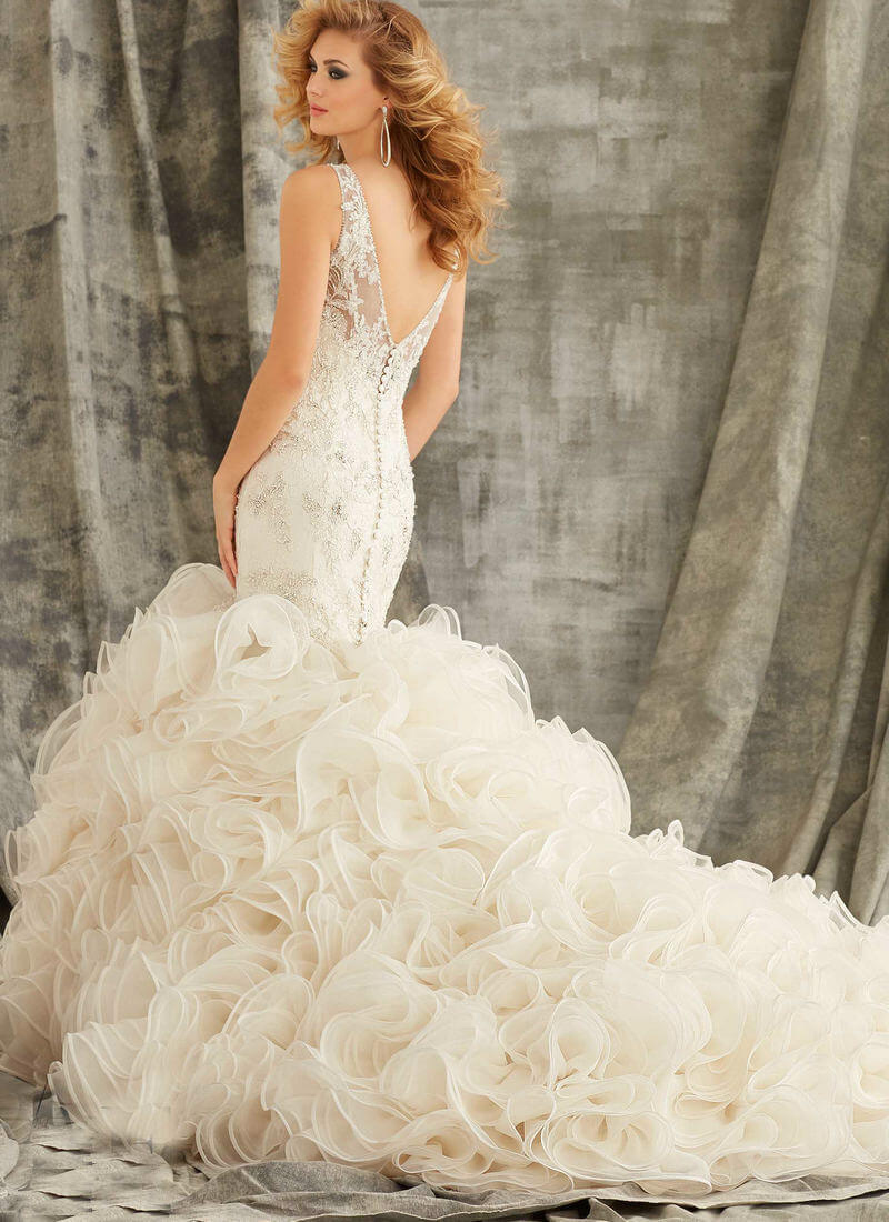 20 of the Most Gorgeous Open Back Wedding Dress & Backless Wedding ...