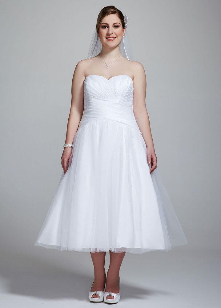 45 amazing short wedding dress for vow renewal for Wedding vow renewal dresses plus size
