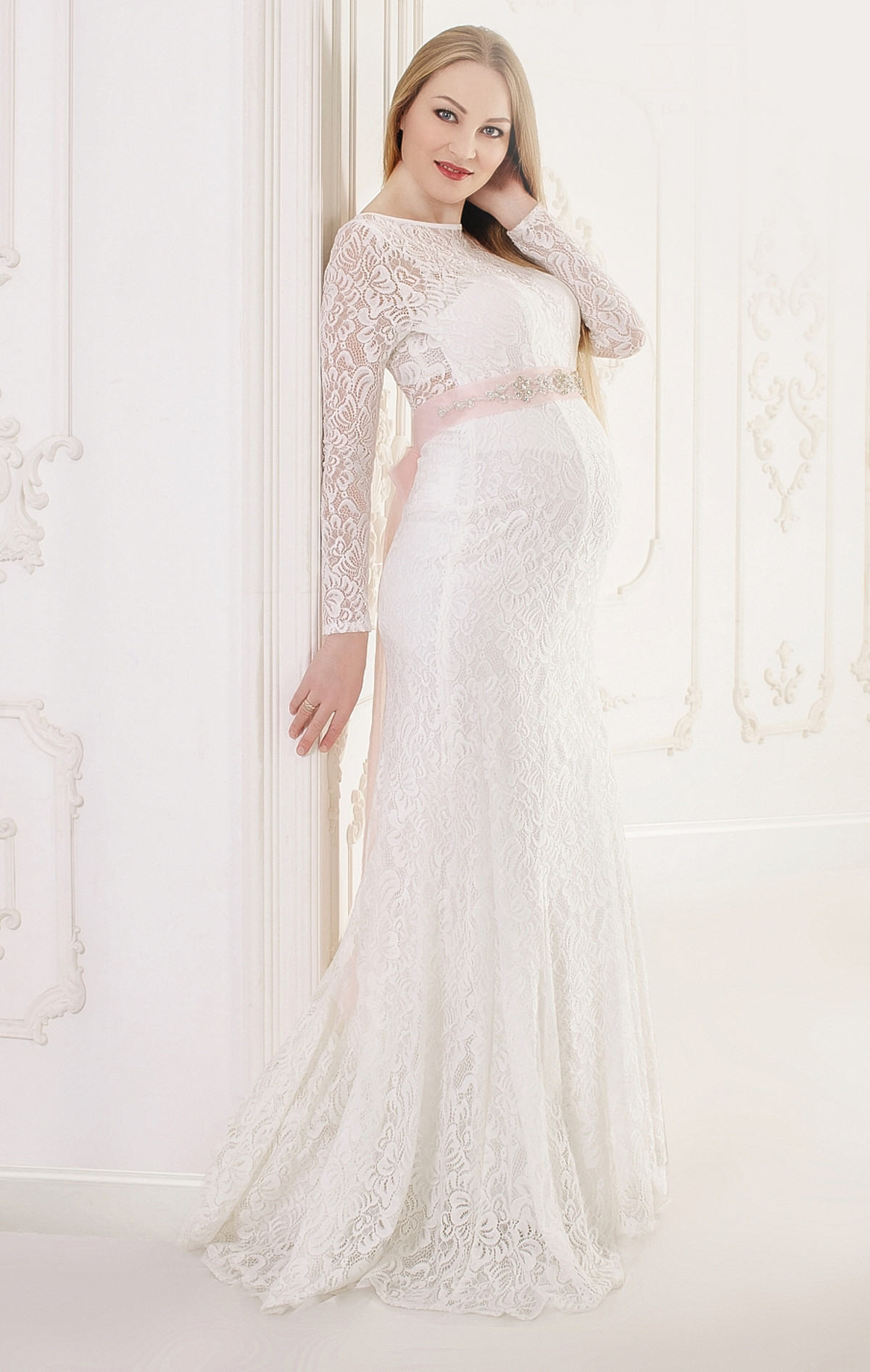 Maternity Wedding Dress For Pregnant Brides