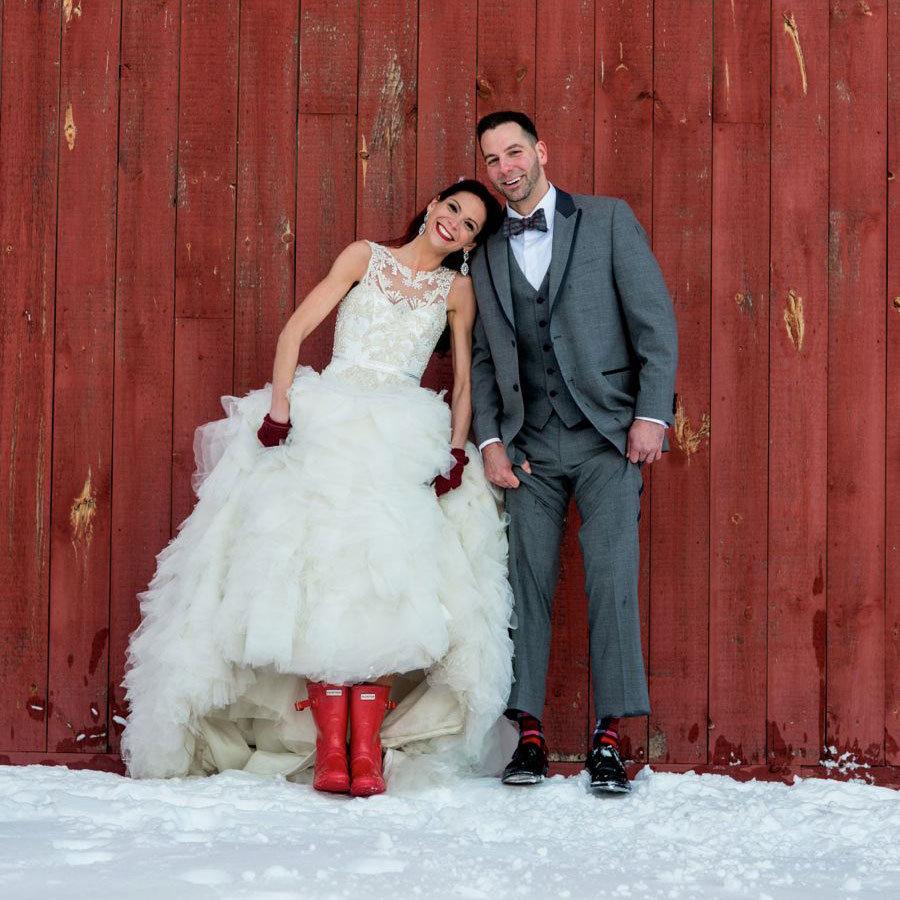 Top 13 winter wedding dress styles winter wedding dress junglespirit Choice Image
