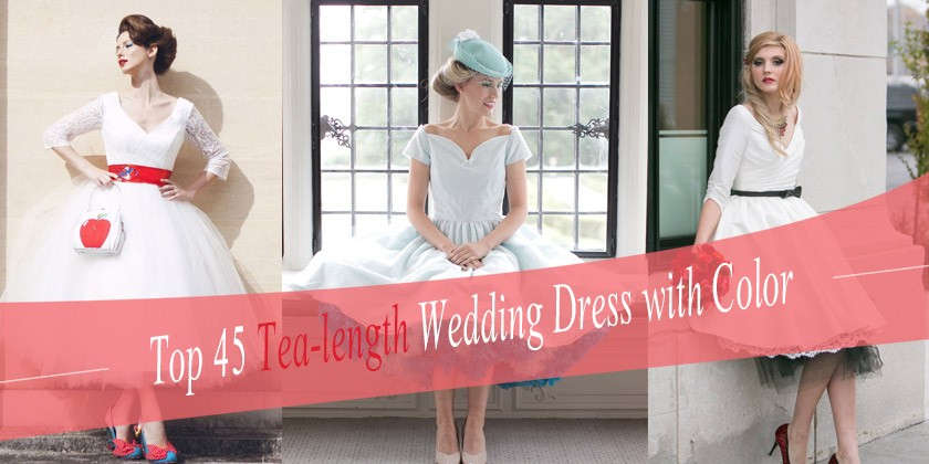 Tea Length Dresses On Pintrest