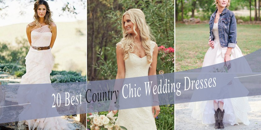 Best Country Chic Wedding Dresses Rustic Western Wedding Dresses